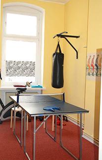 Praxis für Kinderpsychiatrie Martin Ristau, ADHS, Sport, Coaching, Trainingsraum